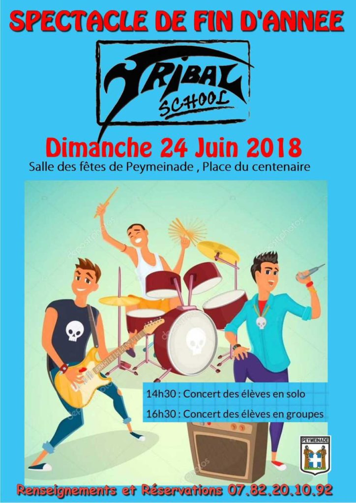 Audition fin d'année Tribal school 2018