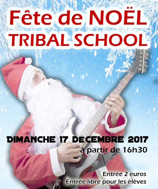 Fête de Noel Tribal school